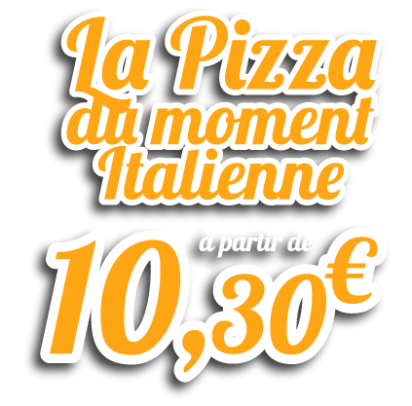 Italienne pizza moment